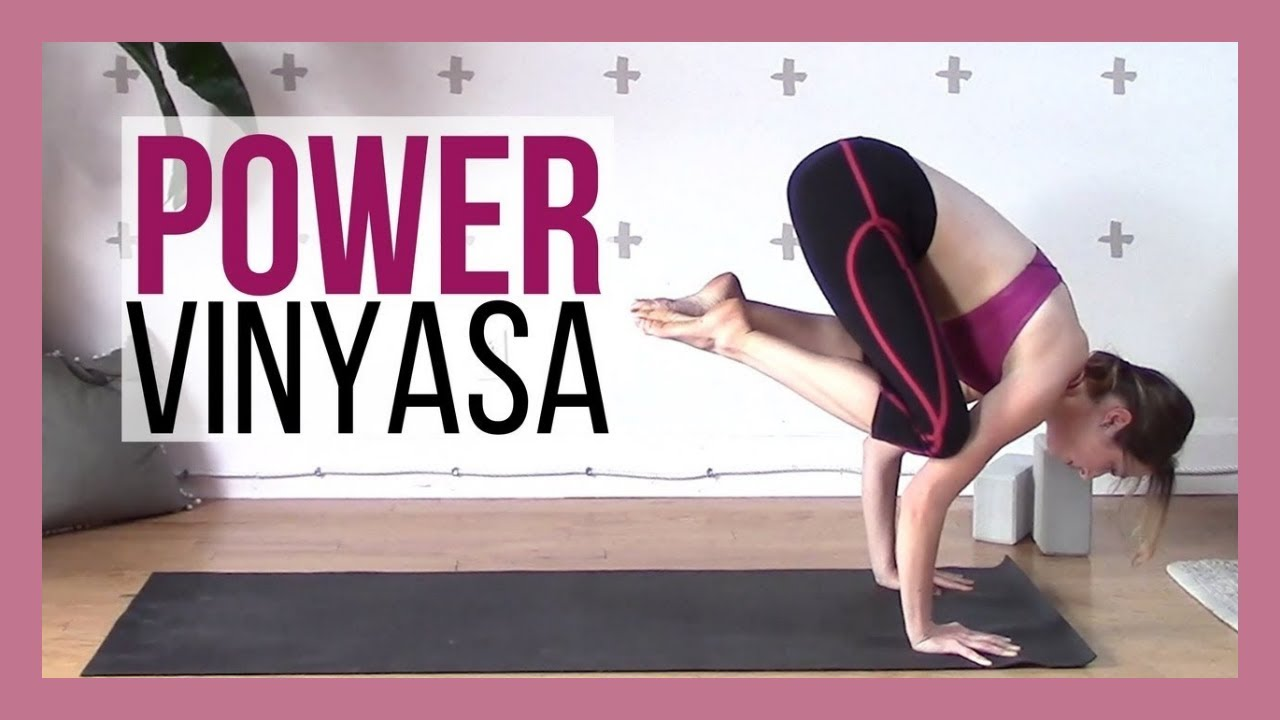 Power Vinyasa Intermediate Yoga Workout {40 min} - YouTube