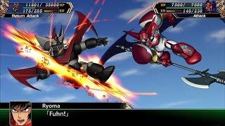 Super robot wars v (eng) - shin getter vs great mazinger event
