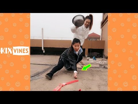 Funny videos 2019 ✦ Funny pranks try not to laugh challenge P107