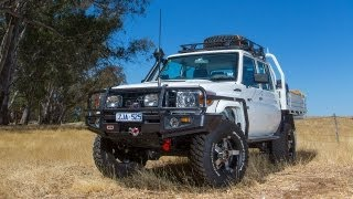 Check out the new Toyota LandCruiser 79 Series Dual Cab, cloaked in...