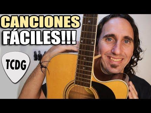 Las 10 CANCIONES Más Fáciles Que Existen Para Guitarra (Las Tocas Seguro!)