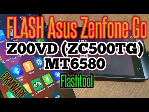 CARA FLASHING Asus Zenfone Go Z00VD ZC500TG MT6580 FLASHTOOL