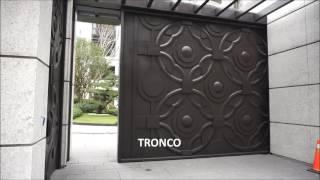 [TRONCO] Automatic Sliding Gate  噸級藝術橫移電動大門