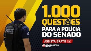 1.000 questões para a Polícia do Senado – Direito Penal