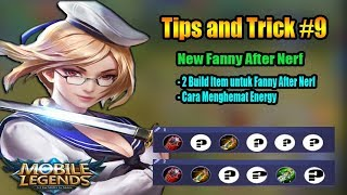 Cara Menghemat Energy + Item Build Fanny After Nerf - Fanny Tips and Trick - Mobile Legends