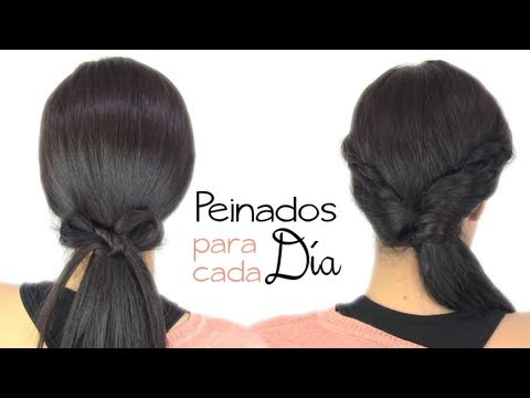 Peinados fáciles para cada día