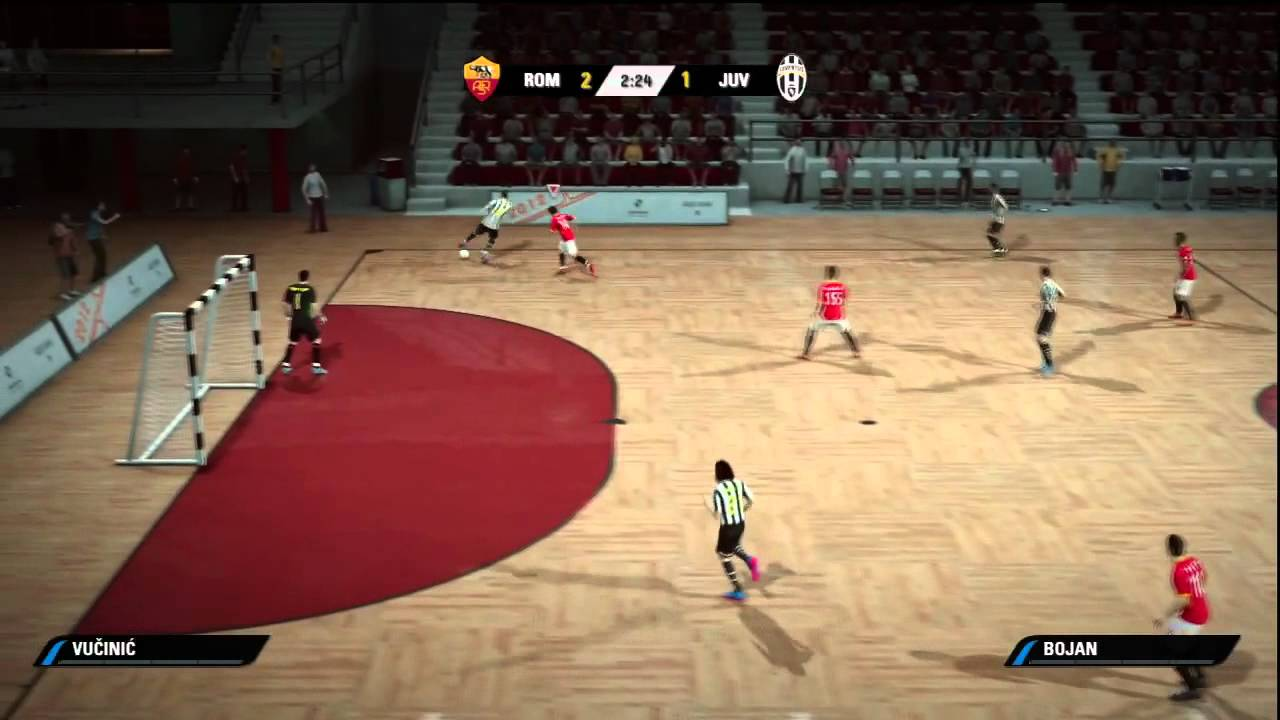 Fifa Street  Futsal Roma Vs Juventus Requested By Theandryluk Youtube