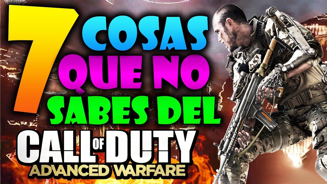 7 Cosas que no sabes del Call Of Duty: Advanced Warfare