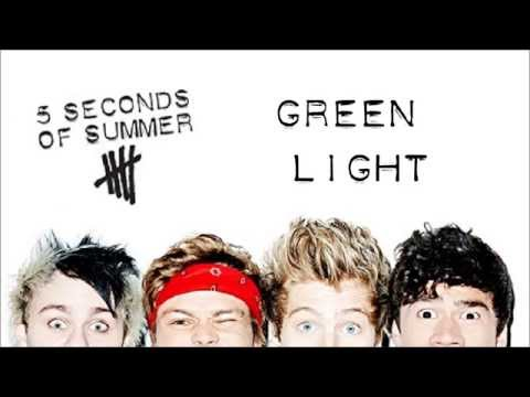 5 Seconds Of Summer - Greenlight | Studio Version (Lyrics + Pictures)