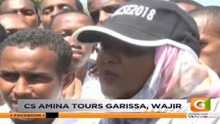 CS Amina tours Garisa and Wajir as KCSE examination continues #CitizenBreafs