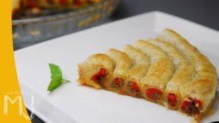 ESPIRAL DE VERDURAS | Pastel de verduras al horno