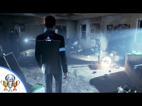 Detroit Become Human Deviant Located Trophy Guide - Find The Deviant in the Attic