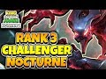 RANK 3 CHALLENGER JUNGLE NOCTURNE GAMEPLAY  - KING OF THE JUNGLE EP. 1