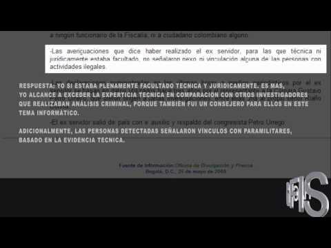 3 de 16   Máxima Infiltración Paramilitar @hackerfiscalia lo denuncia720p H 264 AAC