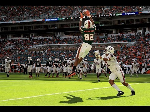Miami Hurricanes Highlights VS Virginia