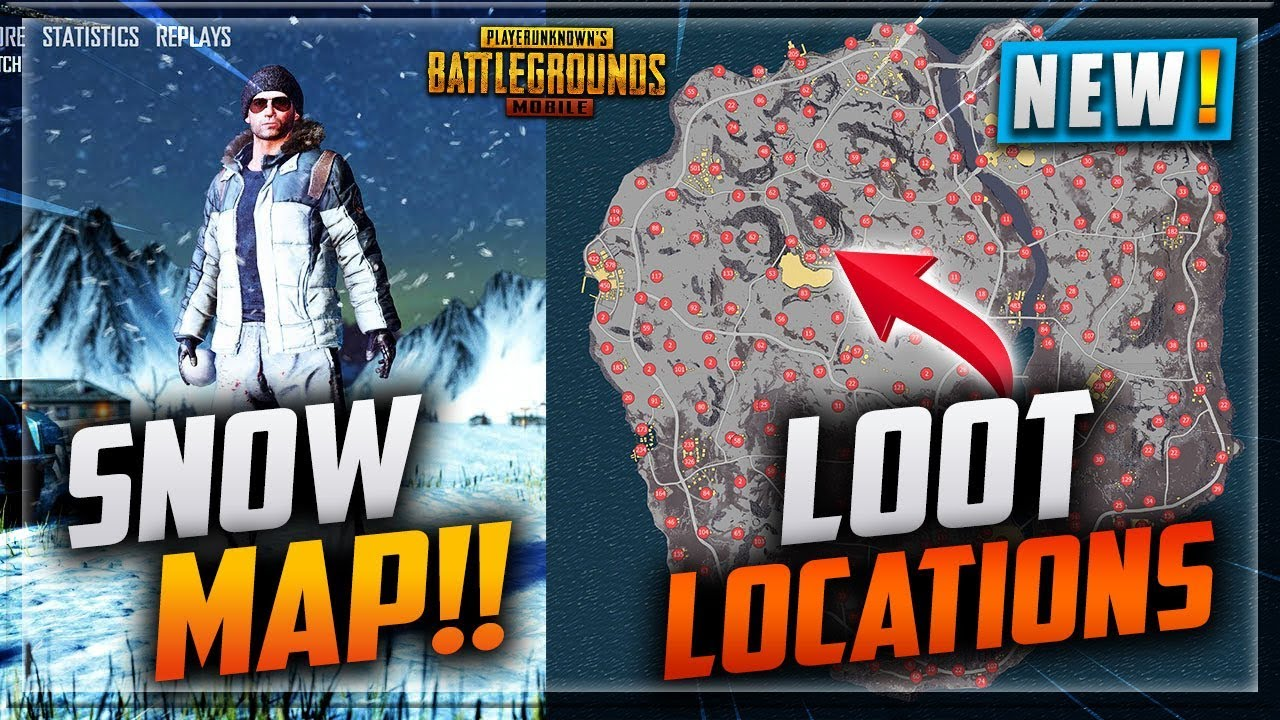 Pubg Vikendi Snow Map Loot Locations Locations Name New Leaked