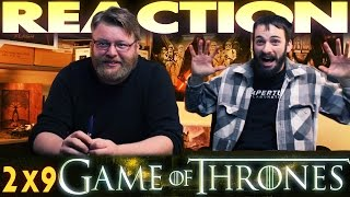 "Game of Thrones 2x9 REACTION!! ""Blackwater"""