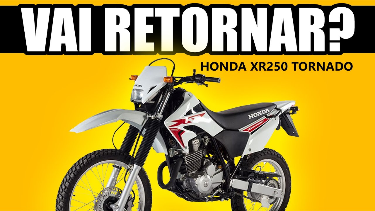 Honda Tornado 250 vai retornar?