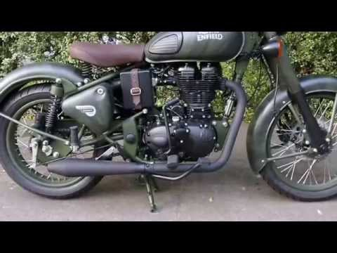 Royal Enfield Limited Edition Despatch With Sports Exhaust