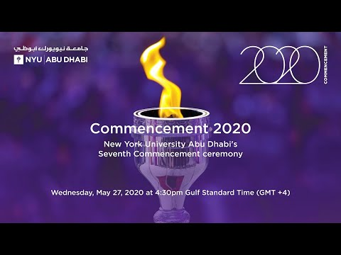 New York University Abu Dhabi 2020 Commencement
