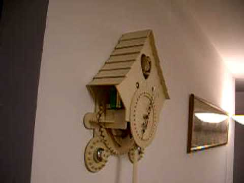 Home made cuckoo clock youtube How to make a cuckoo clock