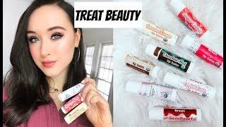 Review of Treat Beauty Lip Balms