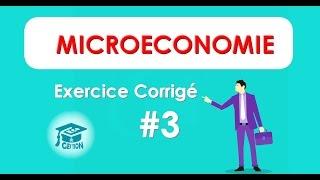 Micéconomie  S2 || Exercice. Corrigé Cobb-Douglass #3