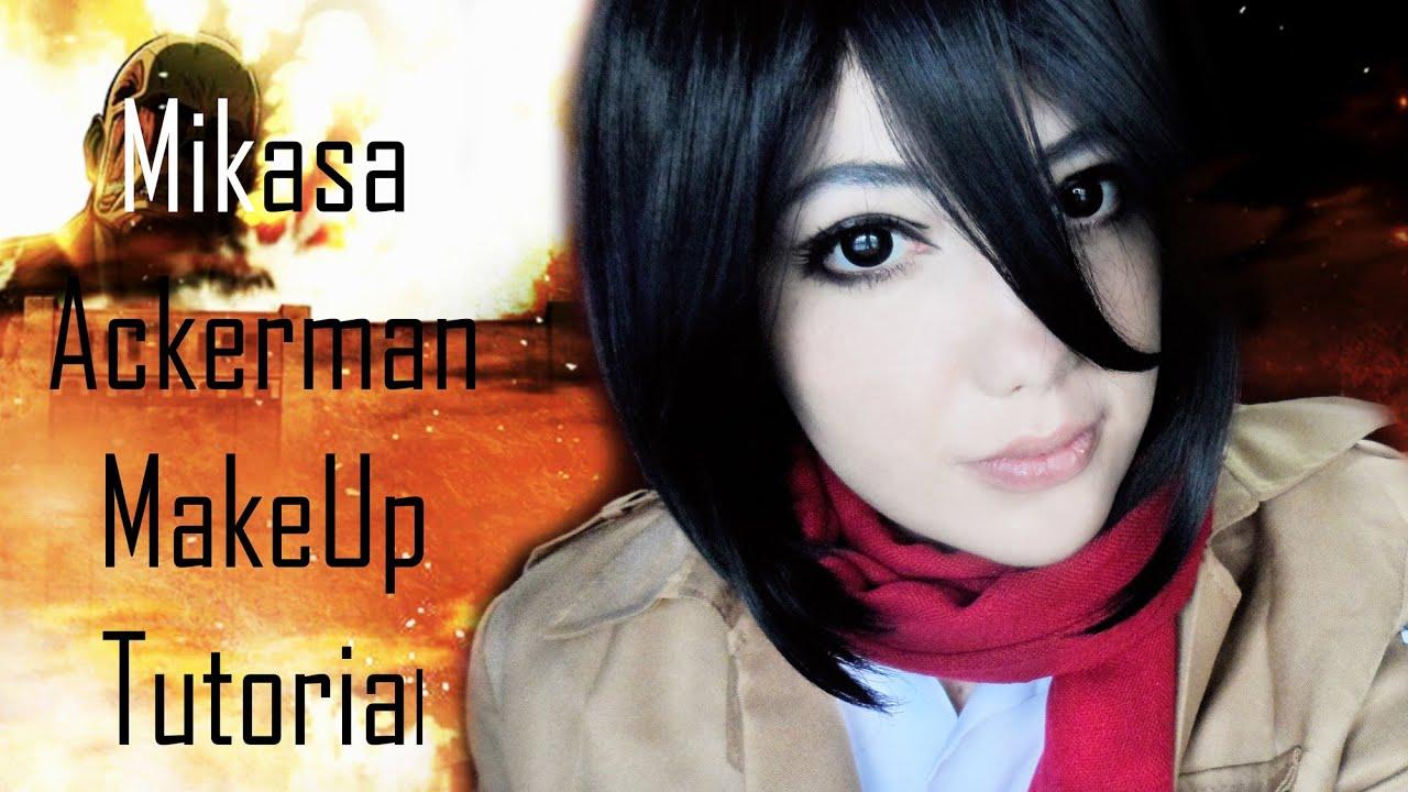 Mikasa Ackerman Attack On Titan Makeup Tutorial