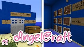 "AngelCraft | ""My First Challenge!"" (Minecraft Modded Multiplayer Survival) #12"