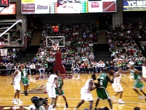 76ers vs. Celtics @ Mullins Center 1
