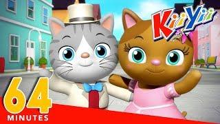 Mr Cat | Plus Lots More Nursery Rhymes And Kids Songs | 64 Minutes Compilation from KiiYii!