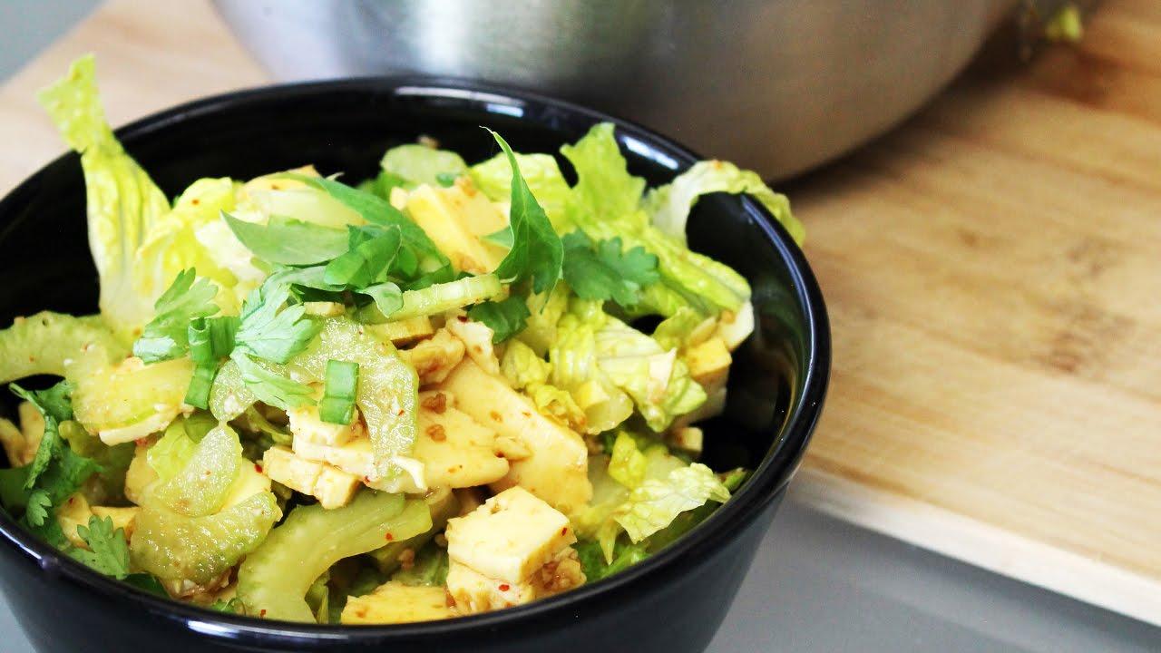How to Make Burmese Tofu Salad | Mary's Test Kitchen