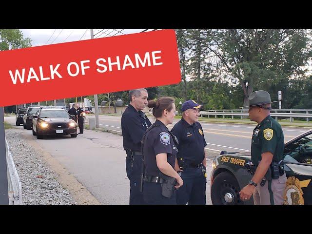 WALK OF SHAME!