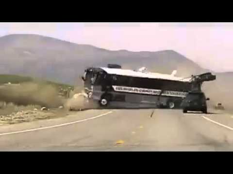 Dunya News Most Dangerous ' Bus Accident '   Video Dailymotion