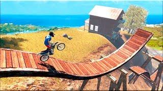 Bike Racing Tricky Stunt Master #2 - Gameplay Android game - trail moto game