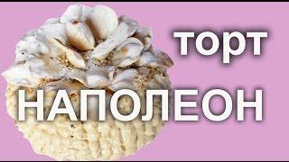 Торт Наполеон Королевский. Русская кухня .