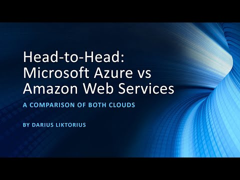 Head-to-Head: Microsoft Azure vs Amazon Web Services (AWS) at SFLCC 2019