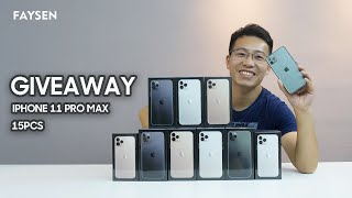 WIN THESE 15 iPhone 11 Pro Max(GIVEAWAY)!
