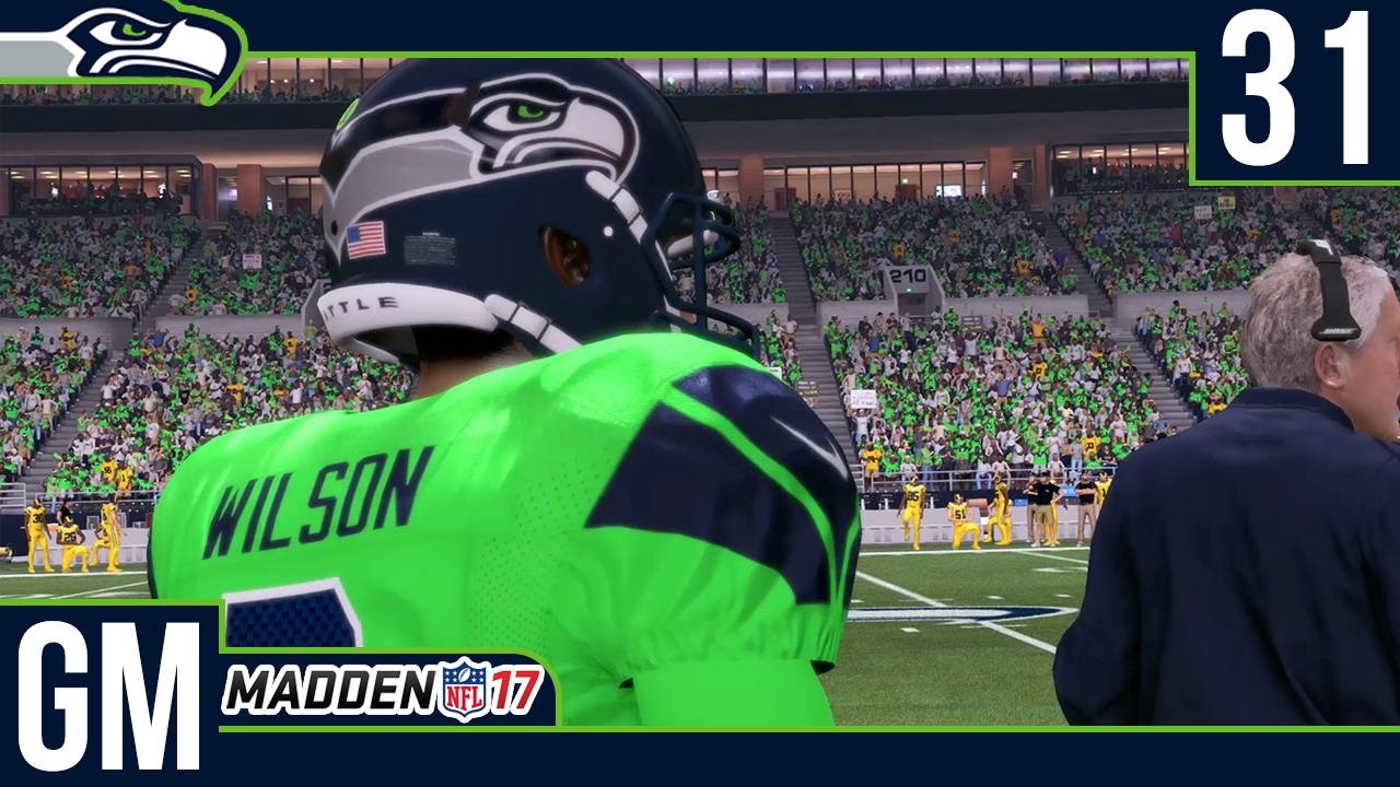 Madden NFL 17 Owner Mode (Seattle Seahawks)  Deutsch 60FPS   31 Color Rush  Action e657a13cd