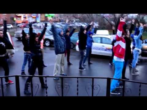Видео, Флешмоб на день рождения Красноярск - Лучший танцевальный флешмоб ФМ2013