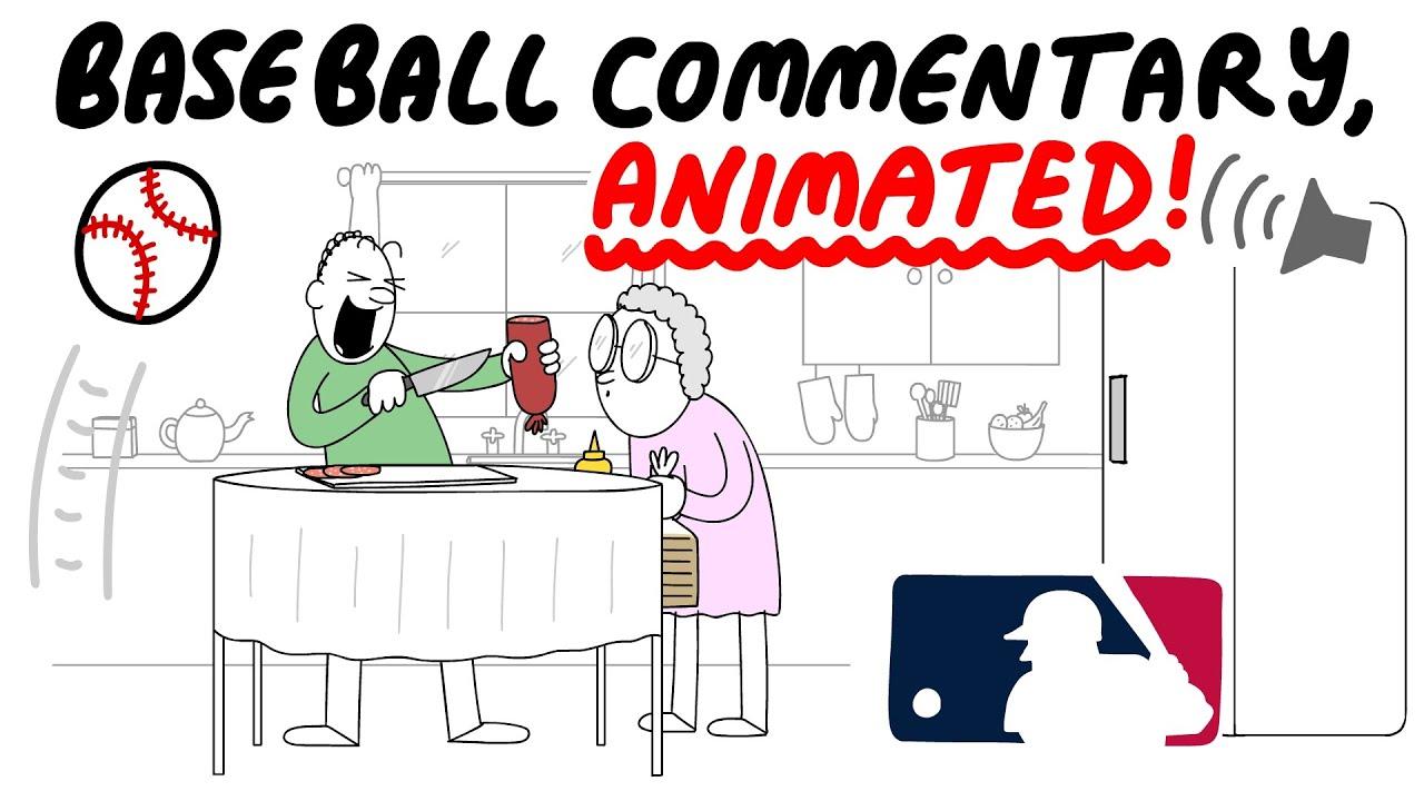 Crazy Baseball Commentary, Animated!