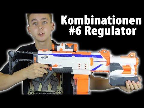 Nerf Regulator Kombinationen #6 | Magicbiber