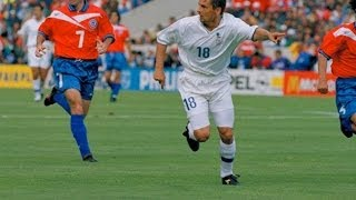Roberto Baggio penalty World Cup 1998
