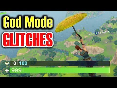 God Mode GLITCHES in Fortnite Battle Royale