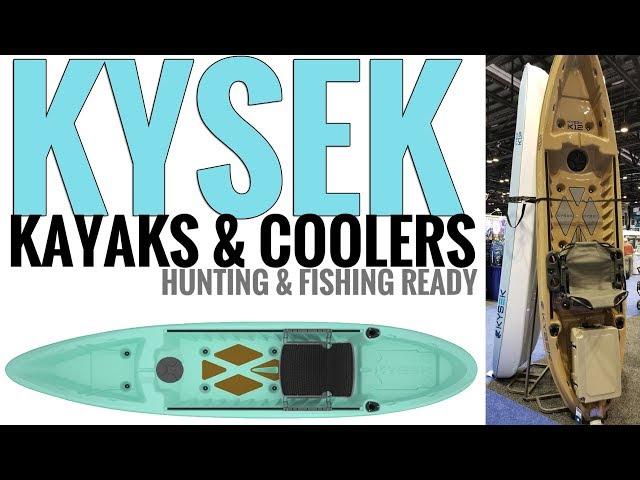 Kysek K12 Hunting & Fishing Kayaks: COOLER INCLUDED