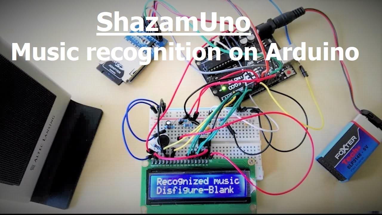 Shazamuno Music Recognition On Arduino Youtube