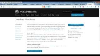How to Install, Setup and Configure WordPress 4.1 on localhost Windows 7 XAMPP
