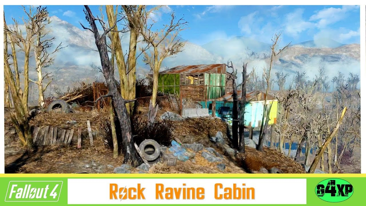 Rock Ravine Cabin Practicing For Fallout 76 Youtube