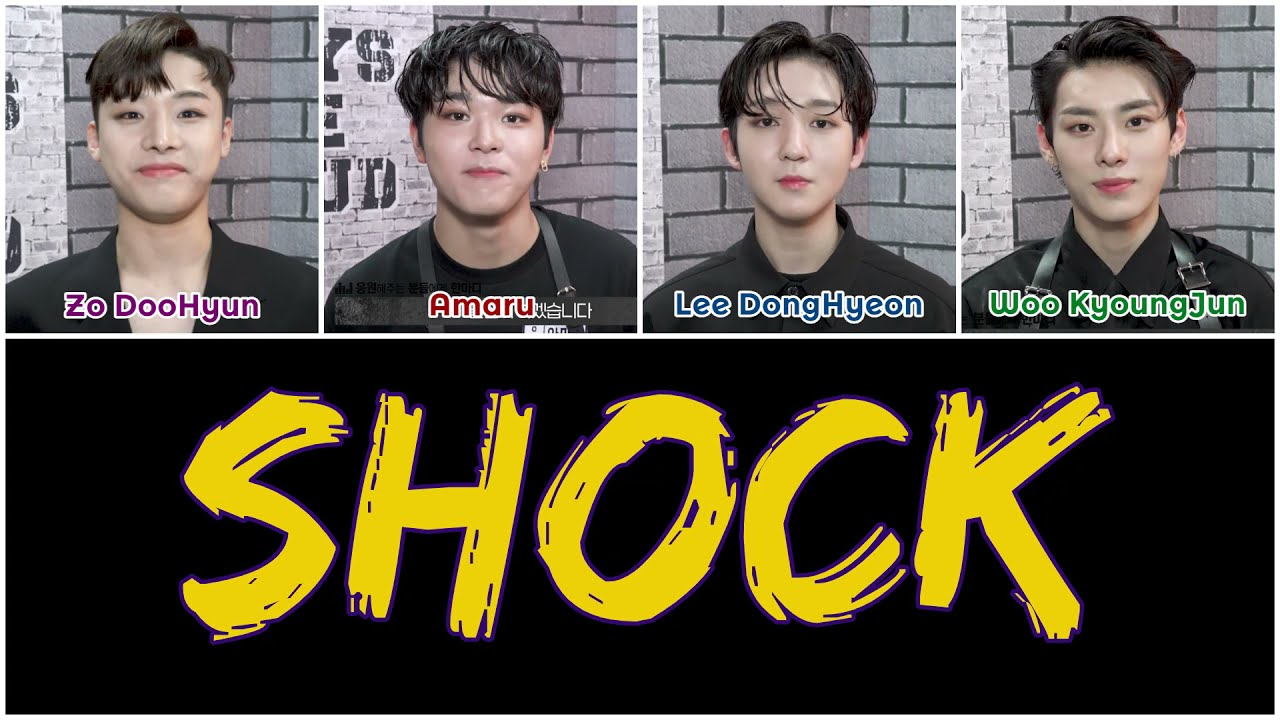 LOUD 피다른네이션 (Blood Different Nation) – SHOCK [HAN|ROM|ENG Color Coded Lyrics]