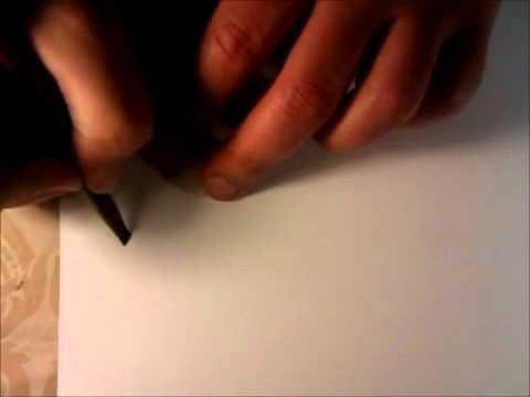 قط قلم البوص على الطريقه الايرانيه